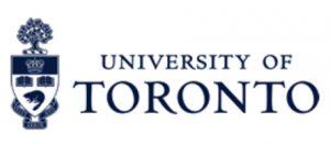 University of Toronto Logo. University seal and then the workds University of Toronto