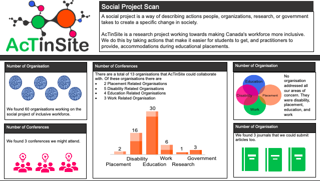 Image of the social project infographic